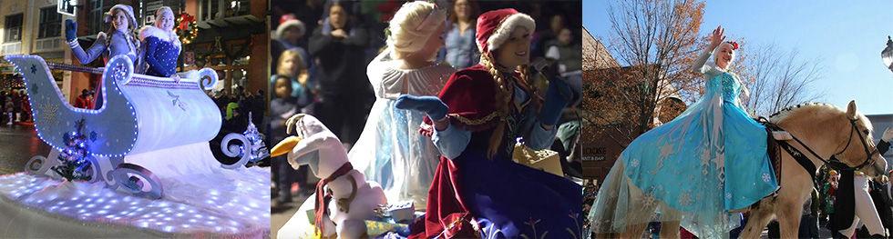 Anna Elsa Schenectady Holiday Parade