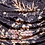 Thumbnail: Velvet Floral Ruching Detail Bodycon Mini Dress
