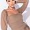 Thumbnail: Mocha Sheer Puff Sleeve Ruching Detail Bodysuit