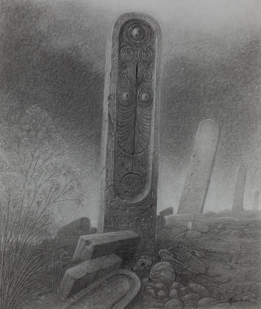 Ancient Monoliths-60x80cm