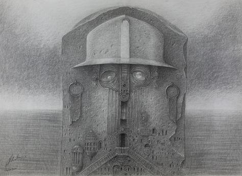 Kapalin Tower - 50x70cm