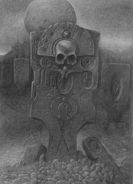 Alien cementary