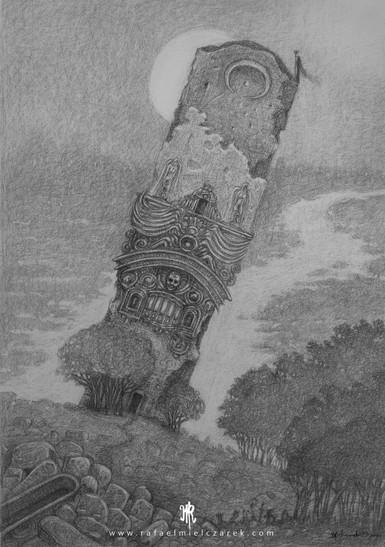 Monoltih Tower-30x40 cm
