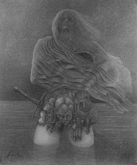 Lady in Lake - 60x80cm