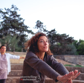 Storytelling in movement class