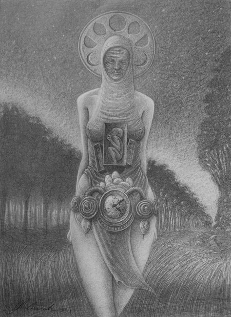 Goddess - 50x70cm