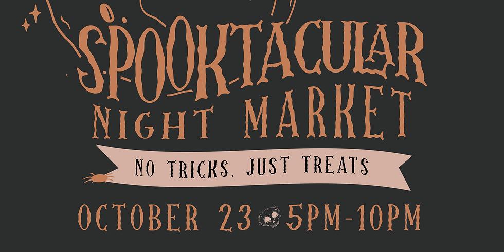 Spooktacular Night Market