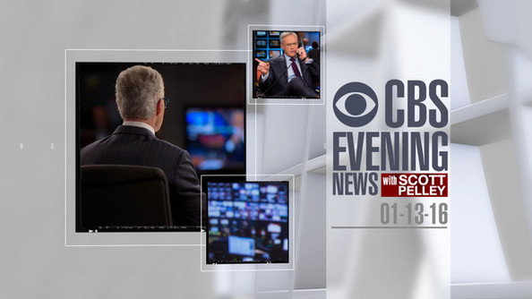 OPEN ANIMATION - CBS EVENING NEWS