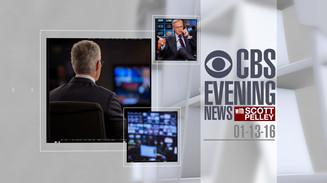 OPEN ANIMATION - CBS EVENING NEWS