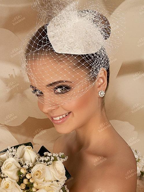 Свадебная вуалетка F006