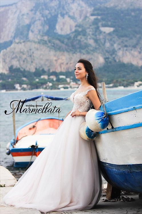 Свадебное платье B007