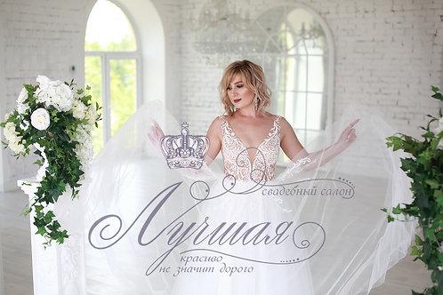 Свадебное платье А046