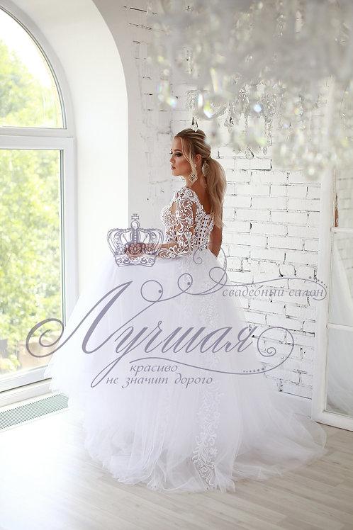Свадебное платье А044