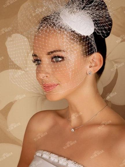 Свадебная вуалетка F002