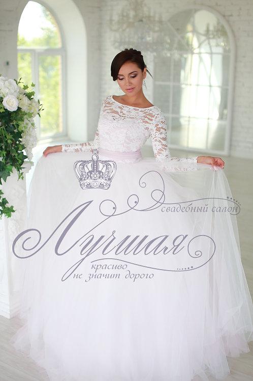 Свадебное платье А043