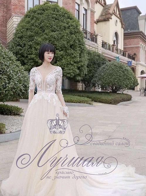 Свадебное платье А058