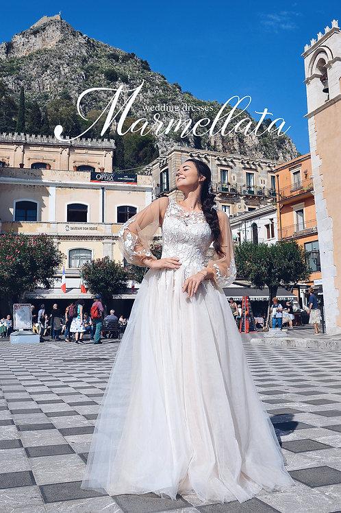 Свадебное платье B009