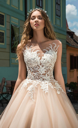 Свадебное платье A019