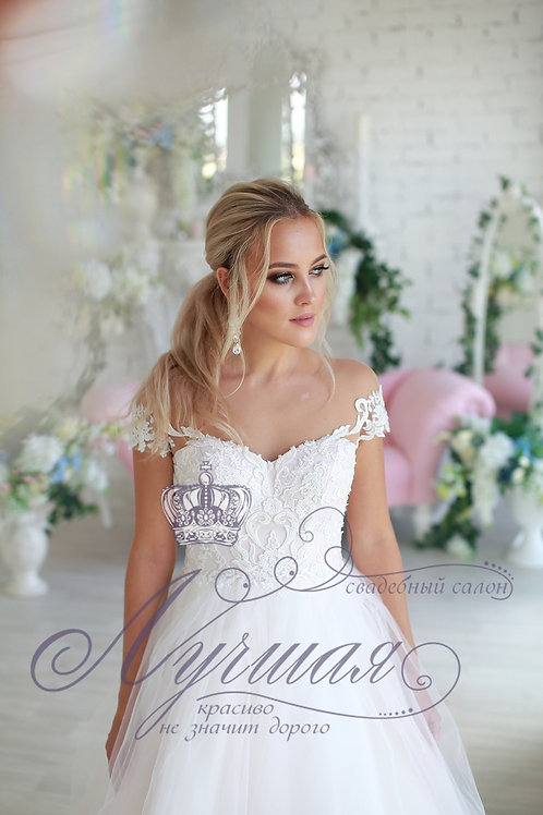 Свадебное платье А047