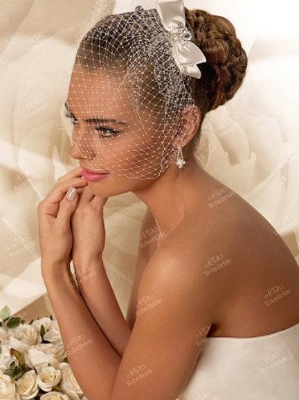 Свадебная вуалетка F004