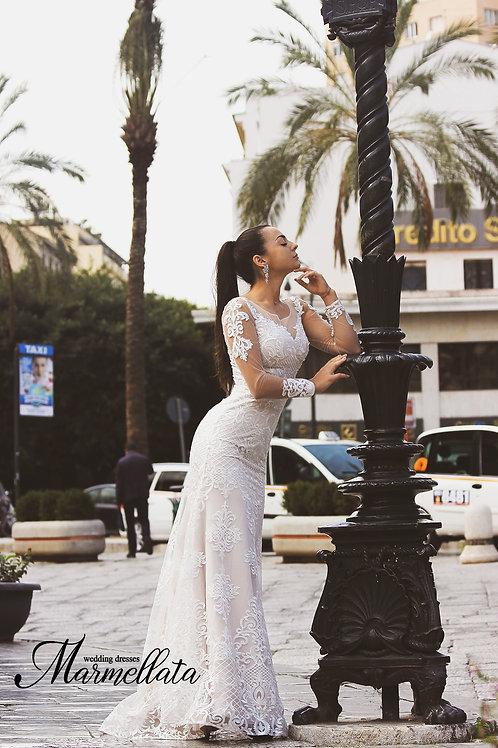 Свадебное платье B014