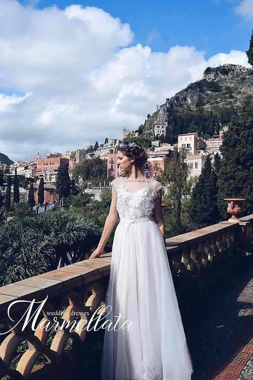 Свадебное платье B006