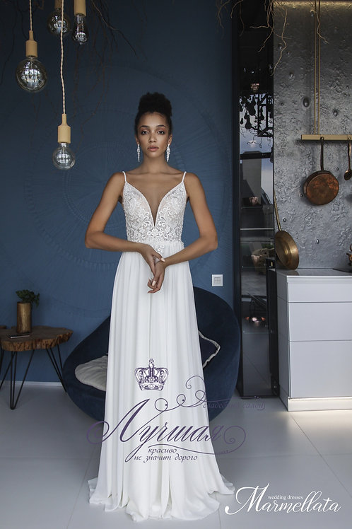 Свадебное платье  F004