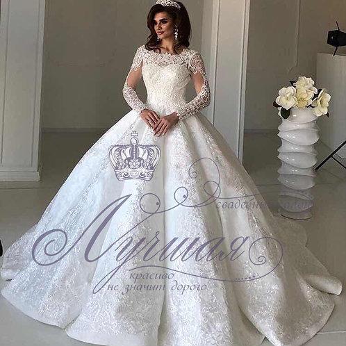 Свадебное платье A057