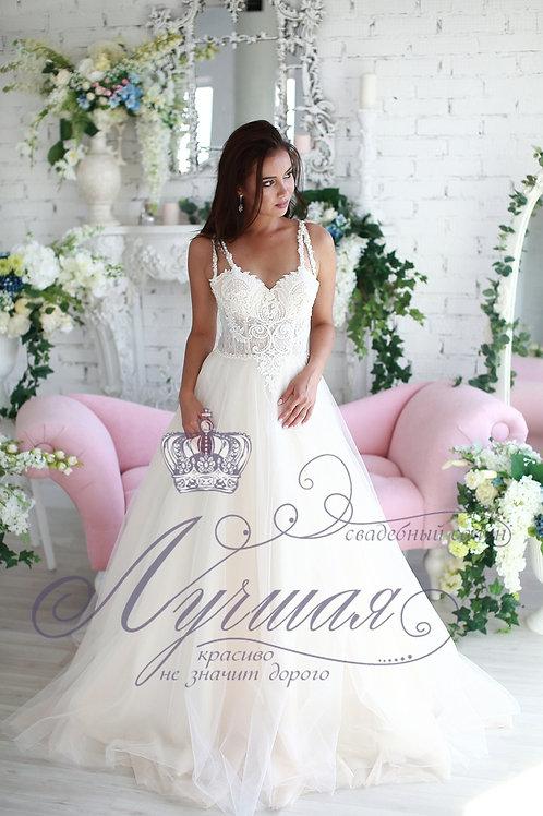 Свадебное платье А048