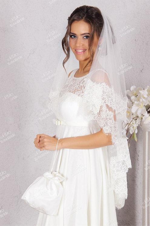 Свадебная фата F014