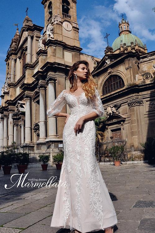 Свадебное платье B002