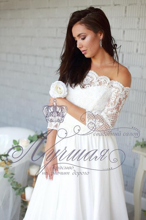 Свадебное платье А049