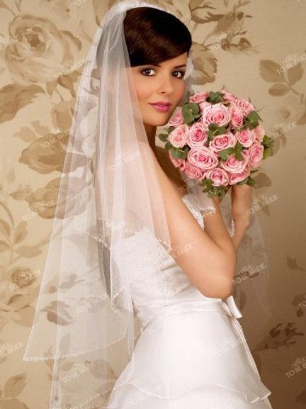 Свадебная фата F021