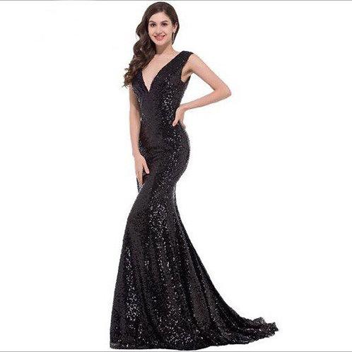 Вечернее платье В005