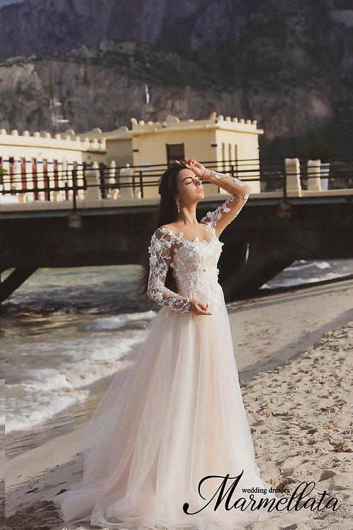 Свадебное платье B005