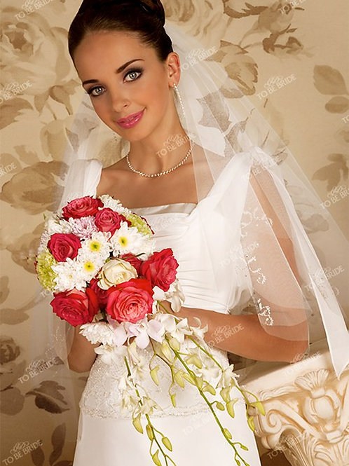 Свадебная фата F012