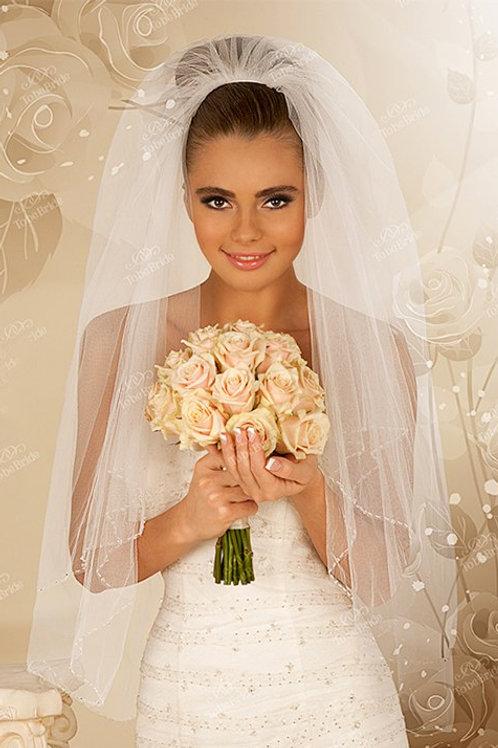 Свадебная фата F011