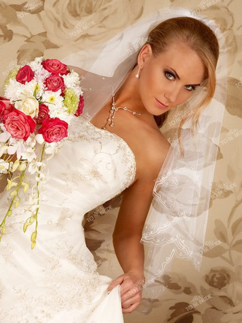 Свадебная фата F024