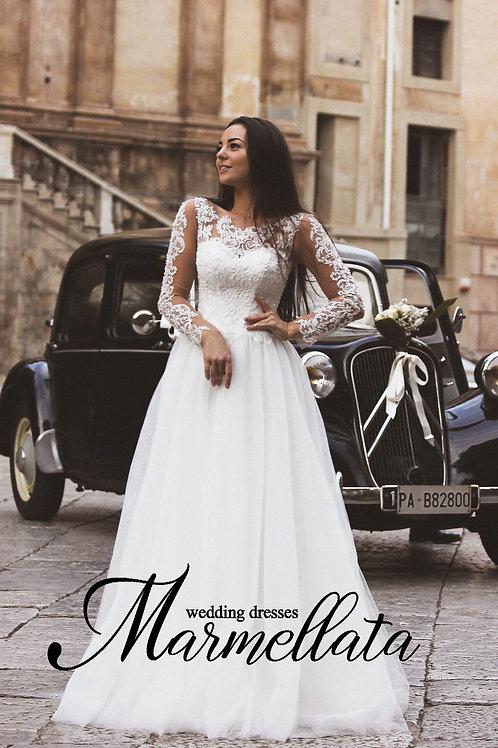 Свадебное платье B001