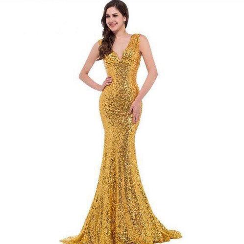Вечернее платье В002