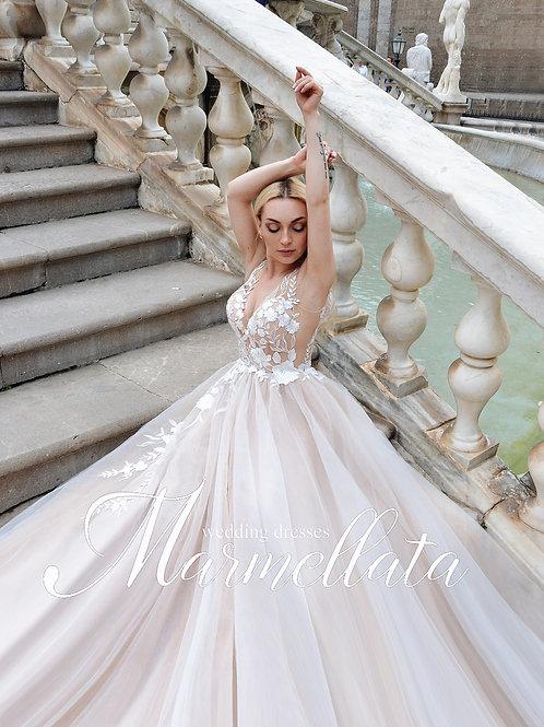 Свадебное платье B020