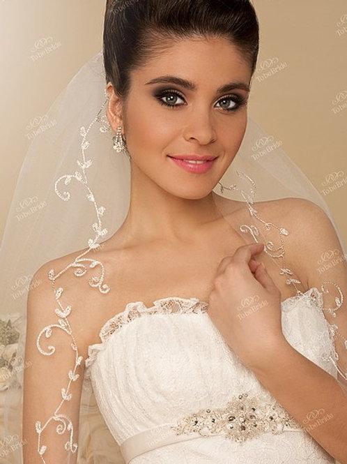Свадебная фата F026