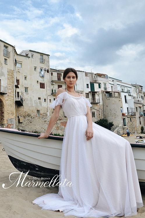 Свадебное платье B015