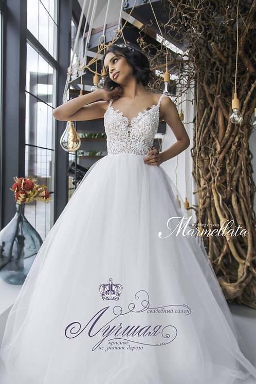 Свадебное платье  F009