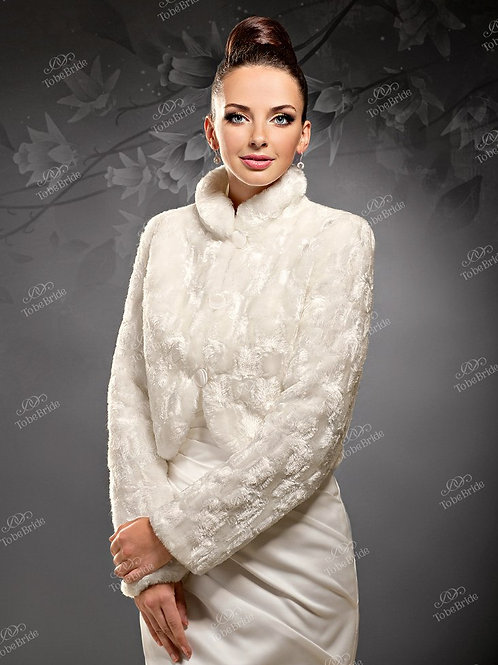 Свадебная шубка Н012
