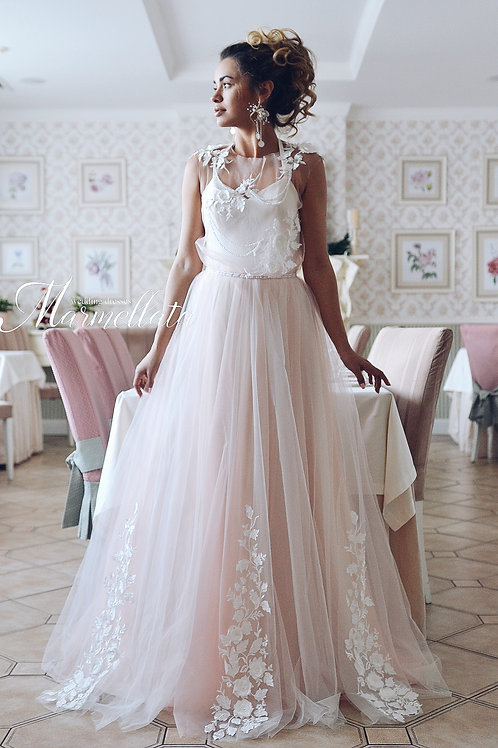 Свадебное платье B040
