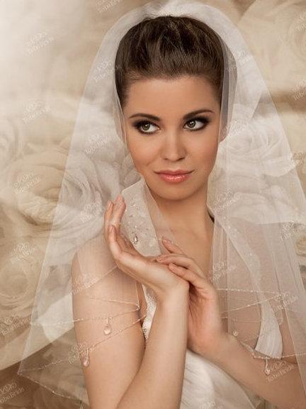 Свадебная фата F016