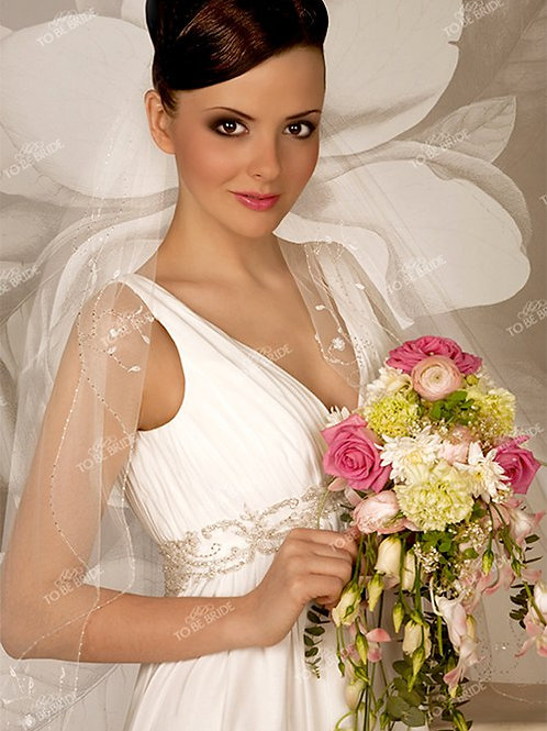 Свадебная фата F013