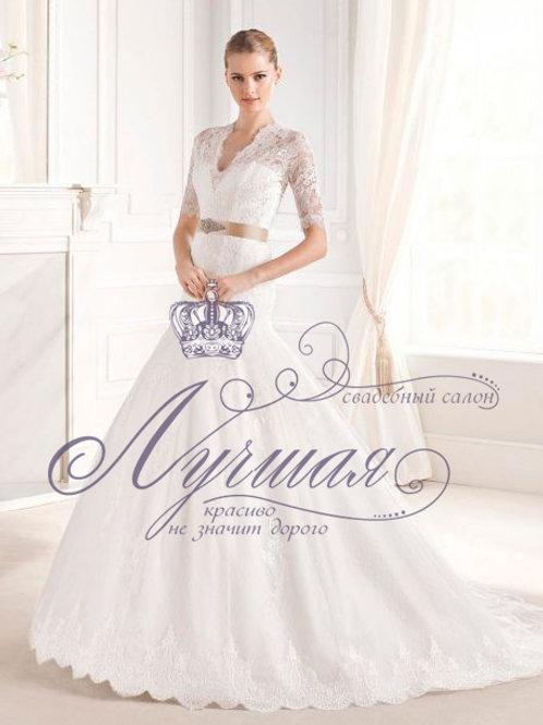 Свадебное платье А055