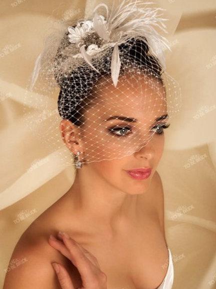 Свадебная вуалетка F003